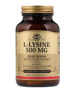 Solgar L-Lysine Lizyna 500mg 100 VCaps
