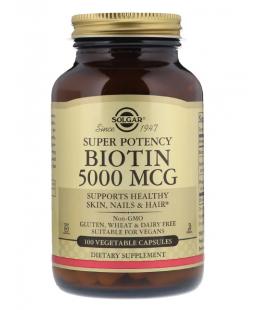 Solgar Biotyna 5000mcg Super Potency 100VCaps
