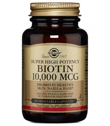 Solgar Biotin 10000 mcg Super High Potency 60VCaps