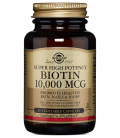 Solgar Biotin 10000 mcg Super High Potency 60VCaps