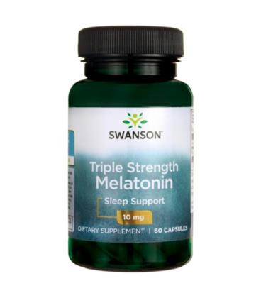 Swanson UltraTriple Strength Melatonina 10mg 60 kapsułek