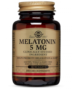 Solgar Melatonina 5mg 60 Pastylek