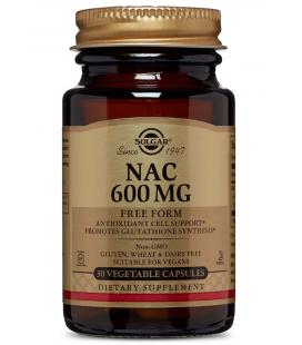 Solgar NAC N-Acetyl Cysteiny 600mg 30 VCaps