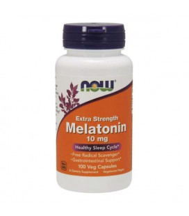 NOW FOODS MELATONINA 10mg 100 vcaps