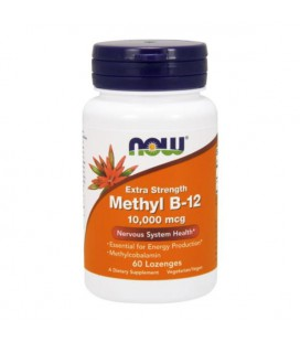 NOW FOODS METHYL B-12 10000 mcg 60 LOZ