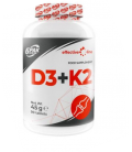 6PAK Effective Line D3 + K2 90tabletek