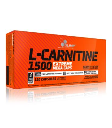 Olimp L-Carnitine 1500 Extreme Mega Caps 120kap