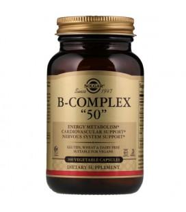 Solgar B-Complex 50 100 vcaps