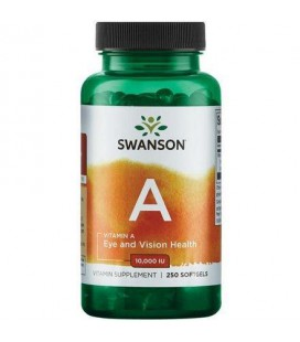 Swanson Vitamin A 10000IU 250softgels
