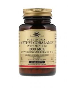 Solgar Metylokobalamina B12 1000mcg 60 Nuggets