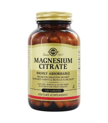 Solgar Magnesium Citrate 200mg 120 tab