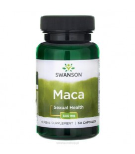 Swanson Maca Extract 500mg 60caps