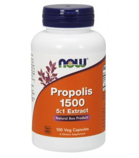 NOW FOODS PROPOLIS 1500mg 100 VCAPS