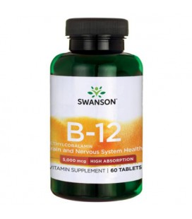 Swanson Methylcobalamin Witamina B12 5mg 60tabl
