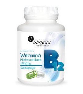 Aliness Witamina B12 100 VEGE kaps