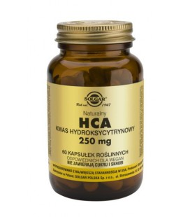 Solgar HCA Kwas Hydroksycytrynowy 250mg 60 kapsułek