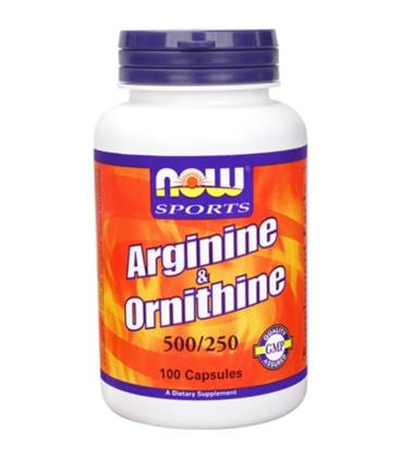 NOW FOODS ARGININE/ORNITHINE 100 CAPS