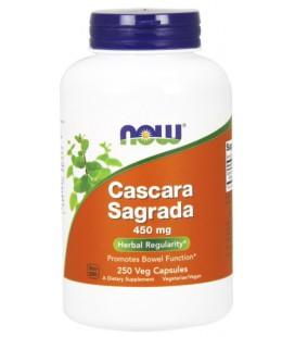 NOW FOODS CASCARA SAGRADA 450mg 250 CAPS
