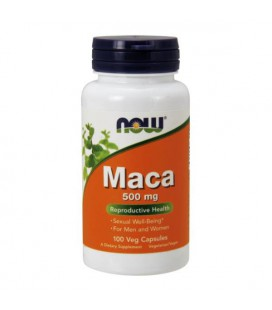 NOW FOODS MACA 500mg 100 VCAPS