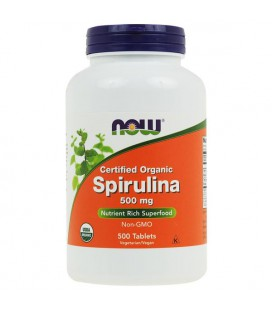 NOW FOODS SPIRULINA 500mg 500 TABL.