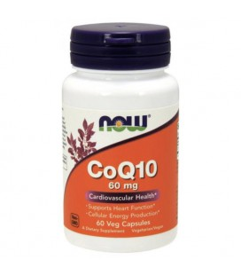 NOW FOODS CoQ10 60mg 60VCAPS