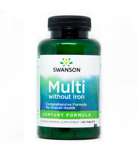 Swanson Century Formula Multi-Vitamin no Iron 130t