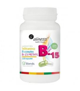 Aliness Witamina B15 Methyl 100Vege Kapsułek