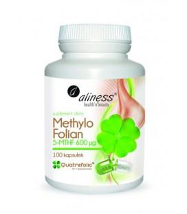 Aliness MethyloFolian 600ug 100 Vege Kapsułek