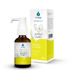 Aliness Witamina C Quali-C® 16 mg (kwas L-askorbinowy) 30 ml