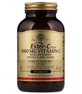 Solgar Ester-C Plus 1000mg Witaminy C 90 tabletek