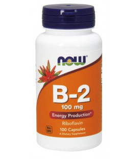 NOW FOODS B-2 100mg 100 TABS
