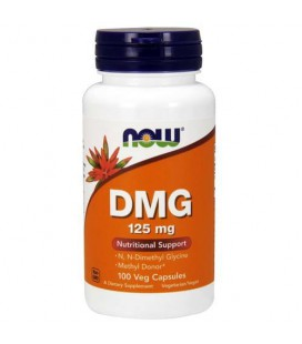 NOW FOODS DMG Dimetyloglicyna B-15 125MG 100vcaps