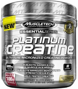 Muscletech Platinum Micronised Creatine 402g