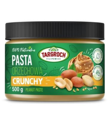 Targroch Pasta Orzechowa Crunchy 500g