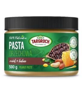 Targroch Pasta Orzechowa + Miód + Kakao 500g