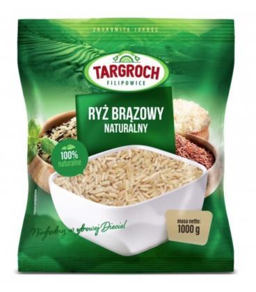 Targroch Ryż brązowy - Naturalny 1kg