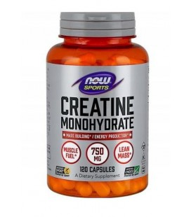 NOW FOODS CREATINE 750MG 120 CAPS