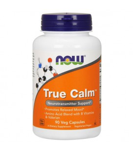 NOW FOODS TRUE CALM AMINO RELAXER 90VCAPS