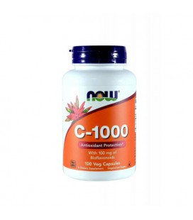 NOW FOODS VITAMIN C 1000MG 100 VCAPS