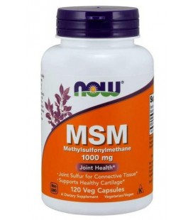 NOW FOODS M.S.M. 1000MG 120VCAPS