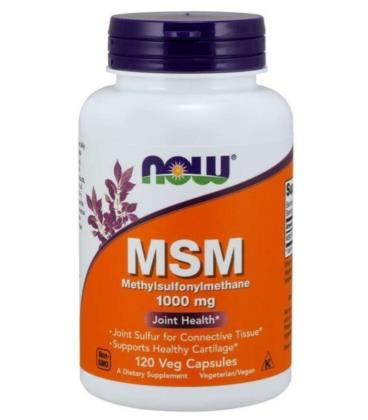 NOW FOODS M.S.M. 100MG 120VCAPS