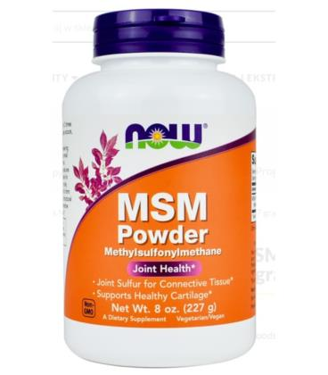 NOW FOODS M.S.M. PURE POWDER 227G