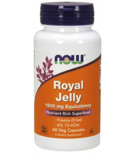 NOW FOODS ROYAL JELLY 1500MG 60 VCAPS