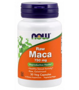 NOW FOODS MACA 750MG (6:1 CONC) 30 VCAPS