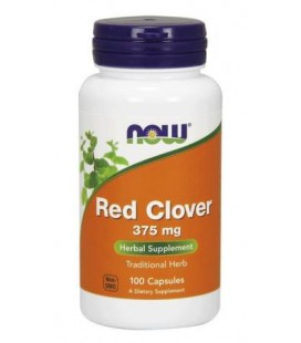 NOW FOODS RED CLOVER 375MG 100CAPS