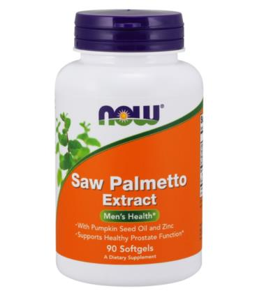 NOW FOODS SAW PALMETTO 320MG 90 SOFTGELS