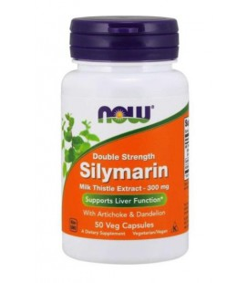 NOW FOODS SILYMARIN MILK THISTLE 300MG 50VCAPS