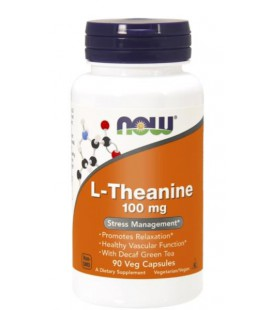 NOW FOODS THEANINE 100MG 90 VCAPS