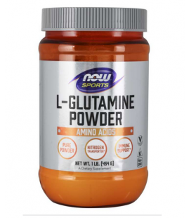 NOW FOODS L-GLUTAMINE POWDER 454g