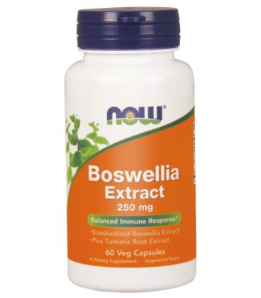 NOW FOODS BOSWELLIA EXTRACT 250MG 60VCAPS